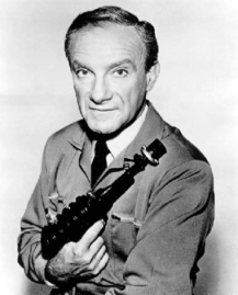 Jonathan Harris como o Dr. Smith, 1965