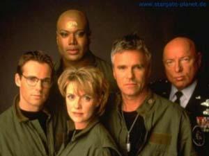 O elenco original de Stargate SG-1