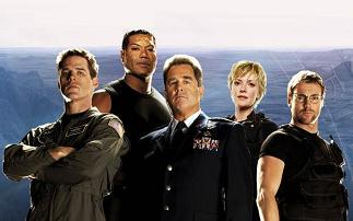 O elenco de Stargate SG-1 a partir da 9ª temporada