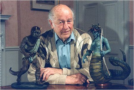 Harryhausen e as criaturas de Fúria de Titãs