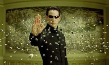 Keanu Reeves em |Matrix Reloaded