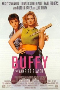 Kristy Swanson no cartaz do filme