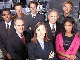 Foto do elenco da primeira temporada de Alias