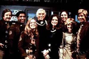 A tripulação da Galactica, na série original