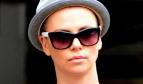 Charlize Theron with hat