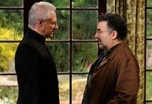 Brent Spiner e Saul Rubinek na quarta temporada de Warehouse 13