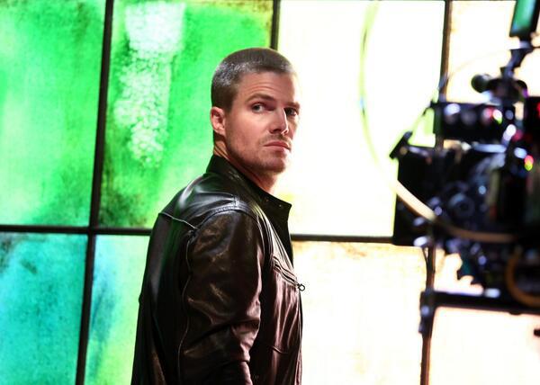 Stephen Amell em Arrow