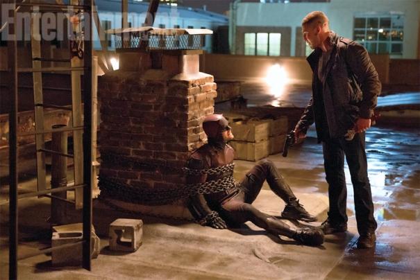 Demolidor (Charlie Cox) e Justiceiro (Jon Bernthal)