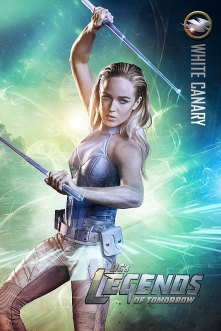 DC's Legends Of Tomorrow -- Image Number: LGN01_CANARY_V1.jpg -- Pictured: Caity Lotz as Sara/White Canary -- Photo: Jordon Nuttall/The CW -- © 2015 The CW Network, LLC. All rights reserved.