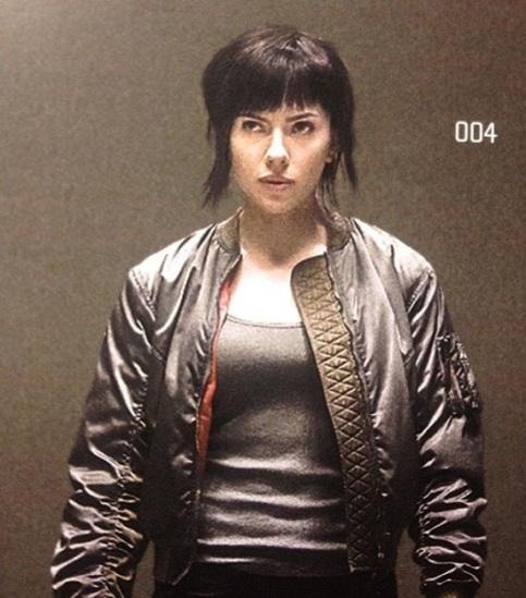 Major Kusanagi (Scarlett Johansson)