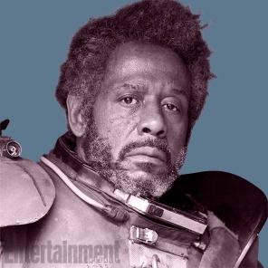 Saw Gerrera (Forest Whitaker): Um veterano lutador que vive nos limites da Rebelião. Foi visto pela primeira vez, mais jovem, na série animada Star Wars: The Clone Wars.