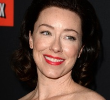 "LOS ANGELES, CA - FEBRUARY 13: Actress Molly Parker arrives at the special screening of Netflix's ""House of Cards"" Season 2 at the Directors Guild of America on February 13, 2014 in Los Angeles, California. (Photo by Jason Merritt/Getty Images)"