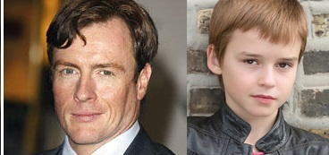 Toby Stephens e Maxwell Jenkins