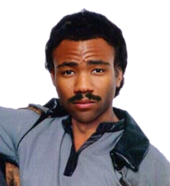 Donald Glover já havia feito até cosplay de Lando Calrissian