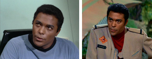 Don Marshall em Star Trek e Terra de Gigantes