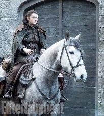 Maisie Williams (Arya)