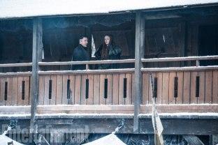 Aidan Gillen (Petyr), Sophie Turner (Sansa)