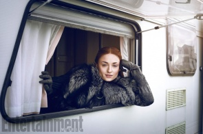 Game of Thrones - Season 7 Sophie Turner Photograph by Marc Hom on November 22, 2016 in Belfast.
