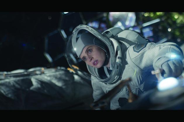THE MIDNIGHT SKY (2020)Felicity Jones as Sully. Cr. NETFLIX